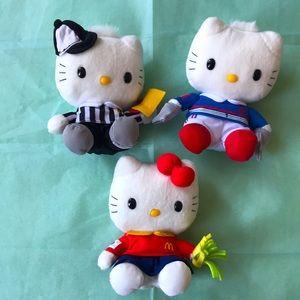 Hello Kitty X McDonald iconic BigMac Combo